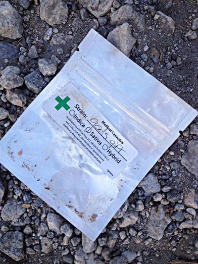 Floortraits God's Gift... Litter On The Streets Of Malibu