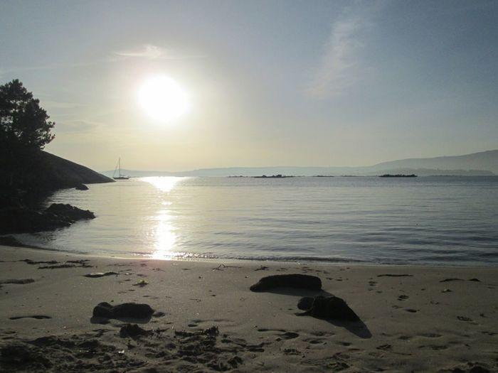 Sinfiltros Galicia Calidade Illadearousa Calasquemolan Playa Summertime Beach Verano☀ Coastline Sea Beauty In Nature Atlantic Ocean