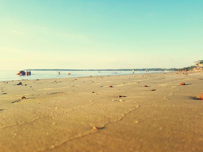 Beach Sand Summer Barcarena Pa Brazil