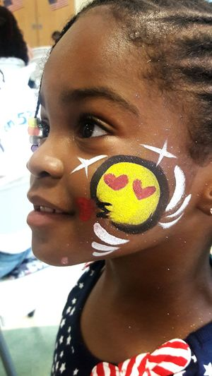 Painted Face Girl Heart Shape Headshot One Person Close-up Portrait People Adult Human Face Happiness Adults Only Young Adult Smiling Young Women Outdoors One Young Woman Only One Woman Only Only Women Looking At Camera Love Day