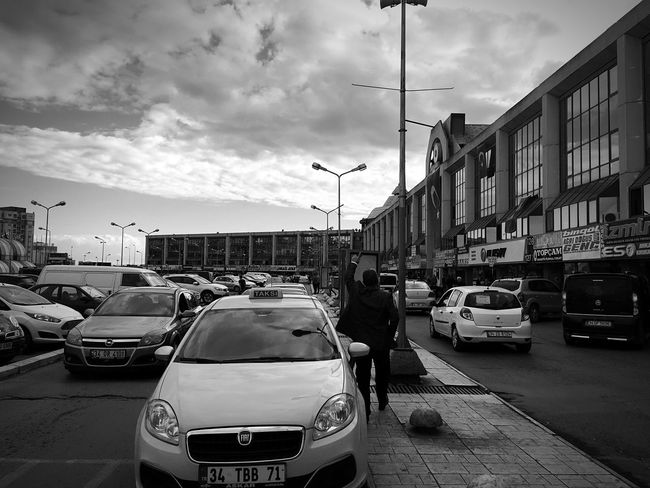 Bus terminal Car Transportation Land Vehicle Building Exterior Mode Of Transport Architecture Built Structure Street Traffic City Street Light Road City Street City Life Cloud Cloud - Sky Sky Rush Hour Day Outdoors Otogar Otobus Seyahat Travel Photography Traveling