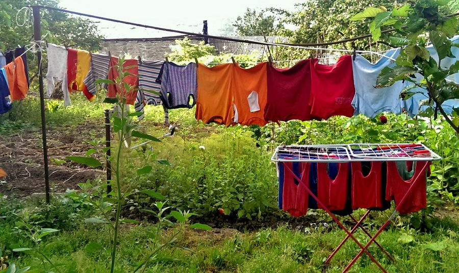 Colors Colorfull Life Village Life Laundry Day