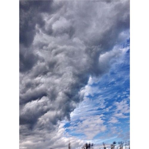 Cloudporn in downtown Collingwood Brucegreysimcoe Fall2014