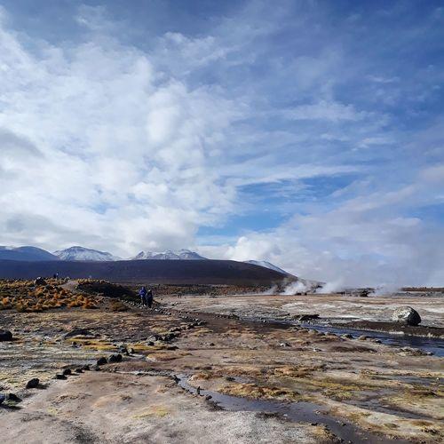 Geysers del Tatio - Chile. Southamerica Outdoors Adventure Chile Landscape Mountain Hot Spring Beach Volcanic Landscape Heat - Temperature Sky Mountain Range Geyser Steam Erupting