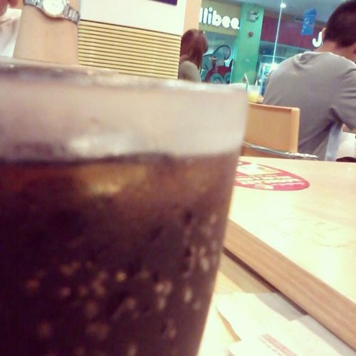 Lunch kanina sa Chowking with My Family ;')) ♥ Happy Blessed  Coke Sogbu ;)