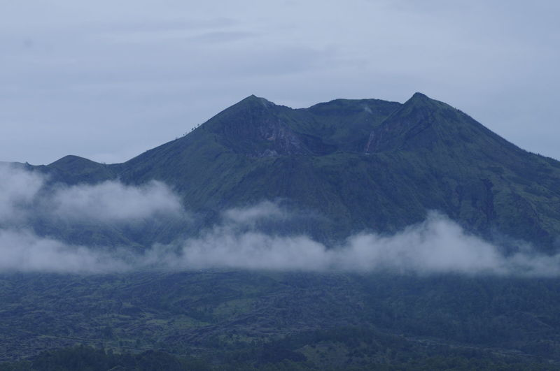 Beauty In Nature Day Fog Hazy  Idyllic Landscape Mountain Mountain Range Nature No People Outdoors Physical Geography Scenics Sky Tranquil Scene Tranquility Agung Mountain Agungpodomoroland Agung Mount Indonesia Mountain Peak Mountain_collection Mountains And Sky Mountain View Mount Agung