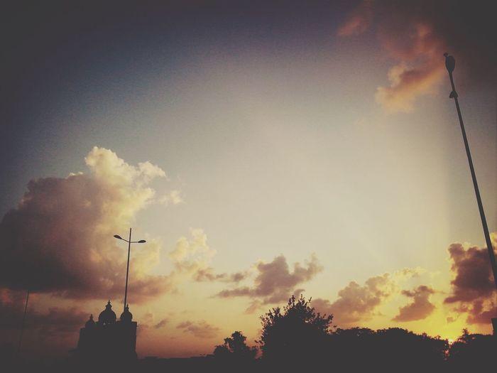 City Sunset Sunset_collection Clouds Sunrays EyeEmBestPics