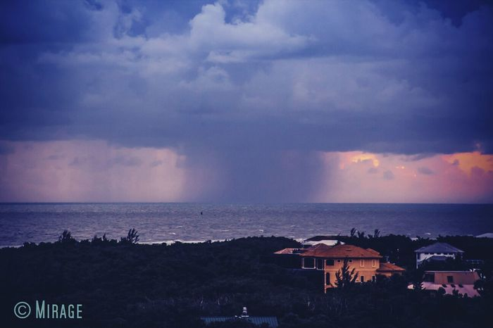 storm coming from the ocean at Marco Island My Dream Sky Photography