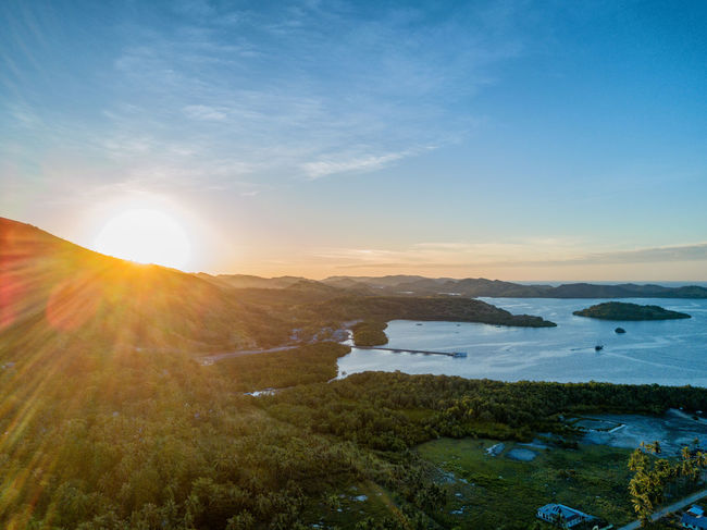 Sunset's over the small village of Riung on the island of East Nusa Tenggara in Indonesia. DJI X Eyeem 17 Islands DJI Mavic Pro Flores Island INDONESIA Islands National Park Seventeen Tourist Travel Travel Photography Aerial Aerial Photography Aerial View Destination Dji East Nusa Tenggara Flores Island Landscape Outdoors Riung Sunset Tourism Tropical Vacation