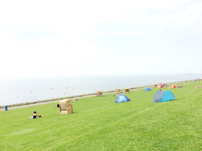 Holiday POV By the sea Lifeisabeach Holiday Seaside Northsea Nordsee Deichkind