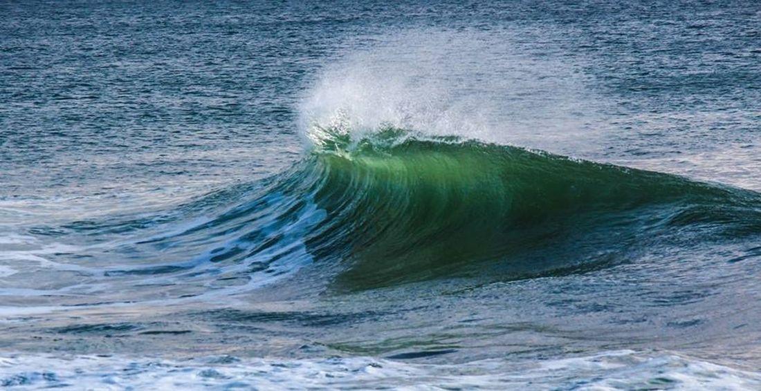 Wave Water Bretagne Green Sea Surfing OpenEdit Canon Beach Sunset #sun #clouds #skylovers #sky #nature #beautifulinnature #naturalbeauty #photography #landscape