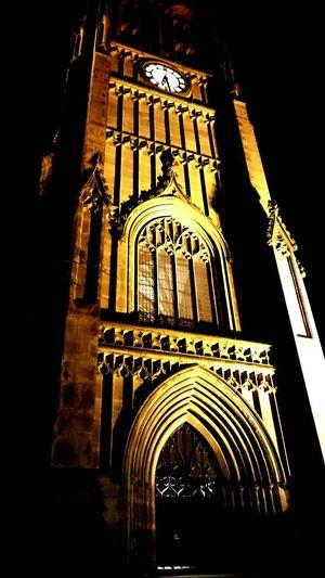 Church Building Night Nightshot City View  . Darkness