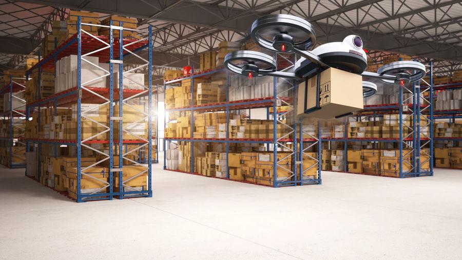 Illuminated lighting equipment in building