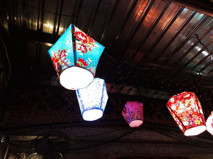 Lantern festival Lantern Lantern Festival Lanternfestival Chinese New Year Taiwan Shifen Pingxi Make A Wish Paper Lantern Decoration Glowing Electric Light
