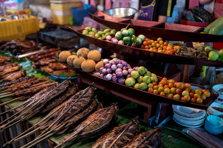 Food And Drink Market Food Healthy Eating Freshness Market Stall Retail  Large Group Of Objects For Sale Wellbeing Choice Variation Abundance No People Fruit Business Still Life Sale Day Arrangement Retail Display Consumerism Ripe Street Market Laos