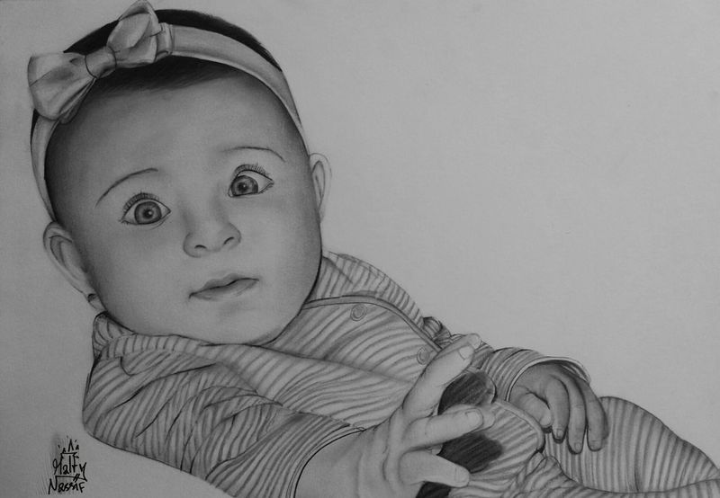 Portrait Drawing Art, Drawing, Creativity Lebanese Pencilart