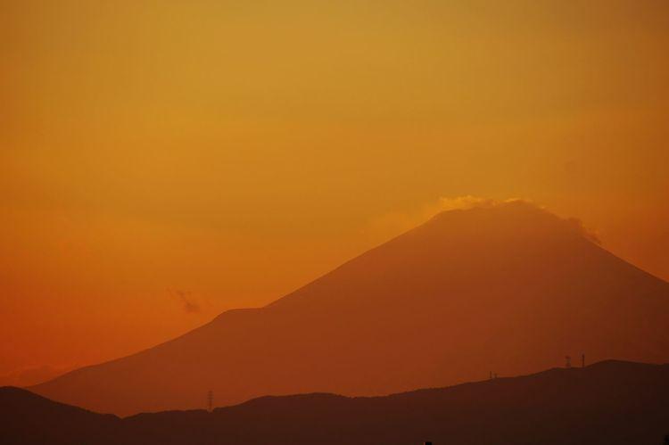 Mt.Fuji Taking Photos Sky Sony Alpha57