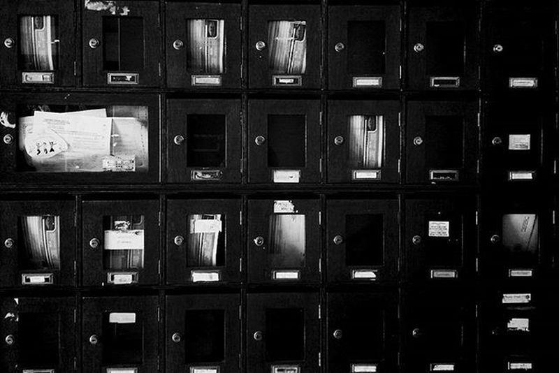 Boxes Repetitive Inorder Blackandwhite