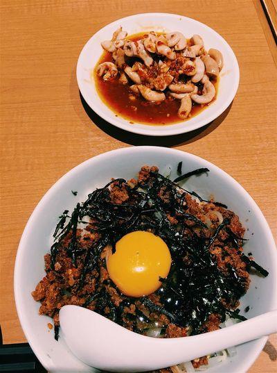 味仙 Nagoya Japan Food Foodphotography Spicy 台湾丼 子袋炒め