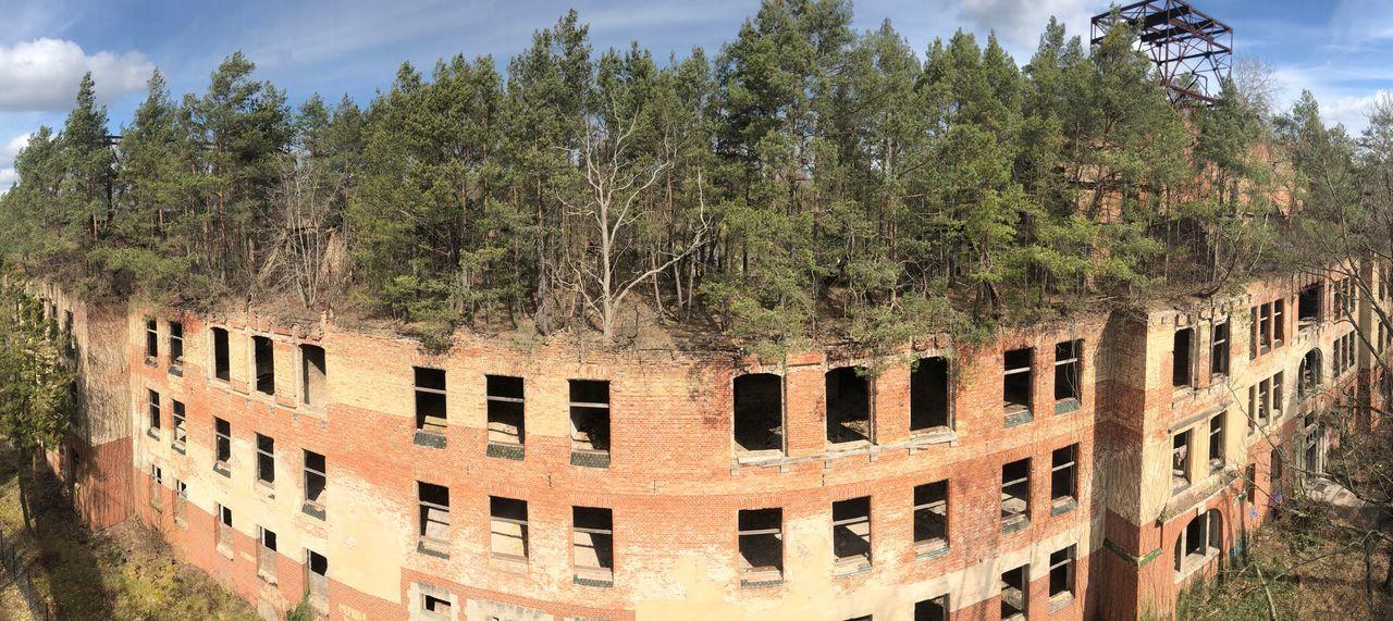 PANORAMIC VIEW OF BUILDINGS