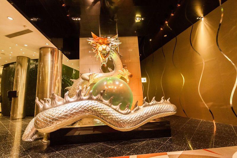 Casino China City City Of Dream City Of Dreams Cotai Cotai Strip Crown Dream Illuminated Indoors  Macao  Macao China Macau Macau, China Melco Night No People Sculpture Statue