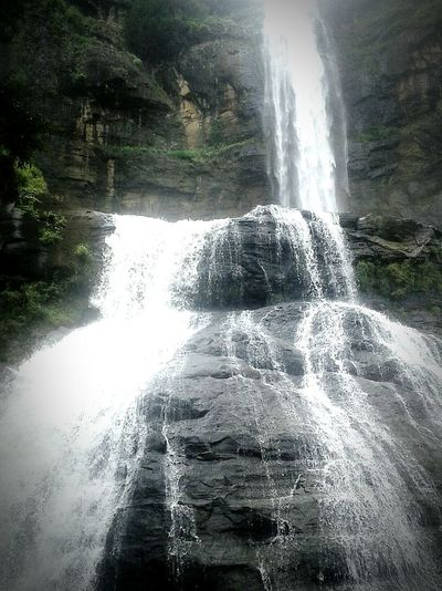 The waterfall is beautiful Water Motion