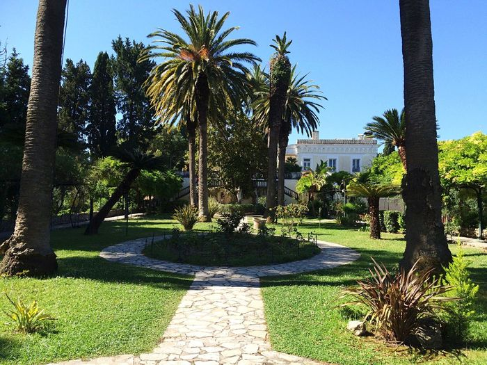 Achilleion Sissi Greece Korfu Summer Palace Garden Photography Check This Out