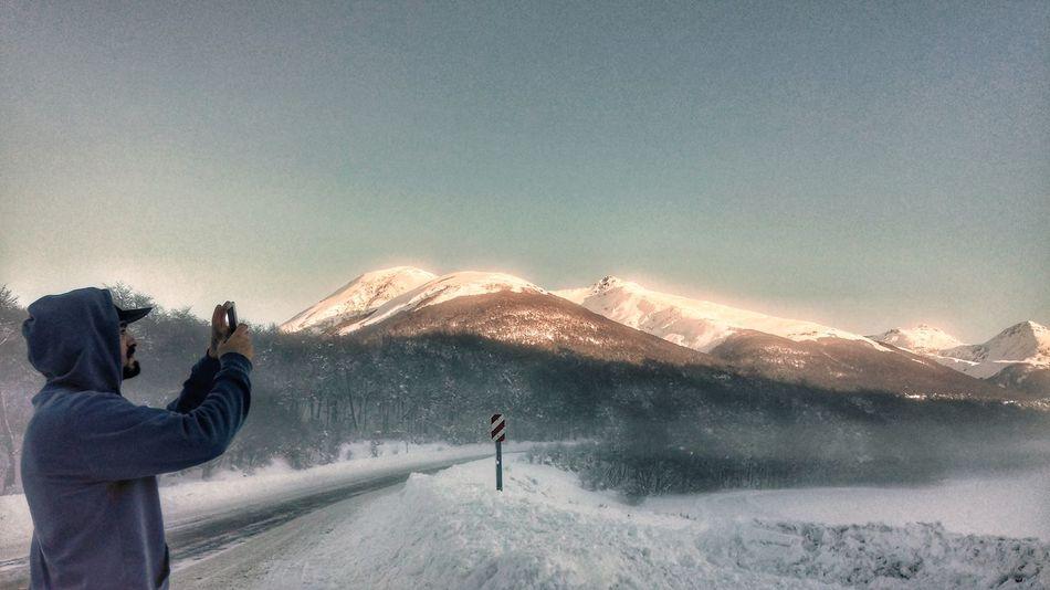 Ushuaia Argentina Snow Winter Cold Landscape