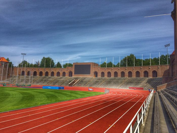 Olympics Stadium Stockholm, Sweden Sports Athletics Tracks
