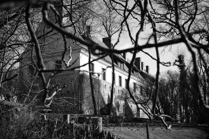 Blackandwhite Poland Black & White Polska Black White Shades Of Grey Hotel Monastery Cloister Klasztor