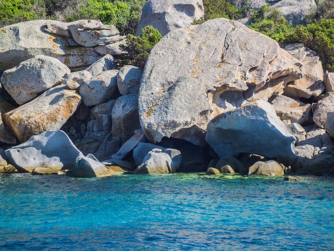 Costa Smeralda Mare Rock Rock - Object Rock Formation Sardegna Sardinia Water
