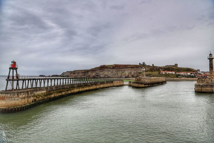 Whitby Whitby Whitby Abbey Architecture Cloud - Sky Built Structure Water Bridge Sky Building Exterior Bridge - Man Made Structure Connection Waterfront Nature River No People Scenics - Nature Day Transportation Beauty In Nature Travel Destinations Outdoors