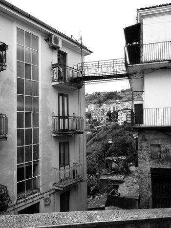 Residential buildings Black & White Italia South Italy Architecture Black And White Black And White Photography Building Exterior Buildings Built Structure Calabria Glimpse Outdoors Verbicaro Window