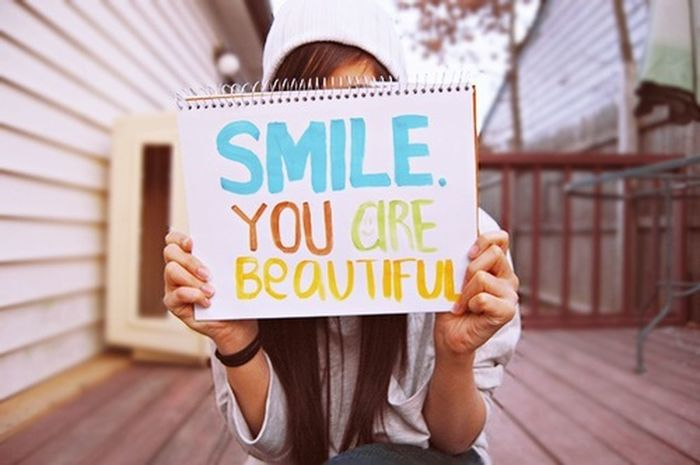 Smile You Are Beautiful Always smile!