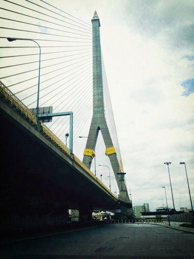Rama 8 Birdge in Bangkok Thailand Bridge Bangkok Thailand Location