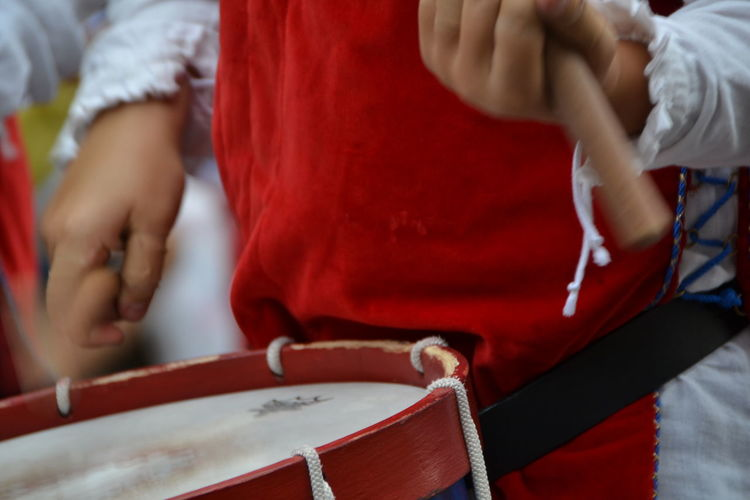 Midsection One Person Red Horizontal Person People Close-up One Man Only Abruzzo, Italia Capture The Moment capturing motion Giostra Cavalleresca Sulmona Sulmona Drummer Drum Tamburo Hystorical Medieval Festival capturing motion Musician Drumstick Traditional Clothing Percussion Instrument Musical Instrument Arts Culture And Entertainment Music