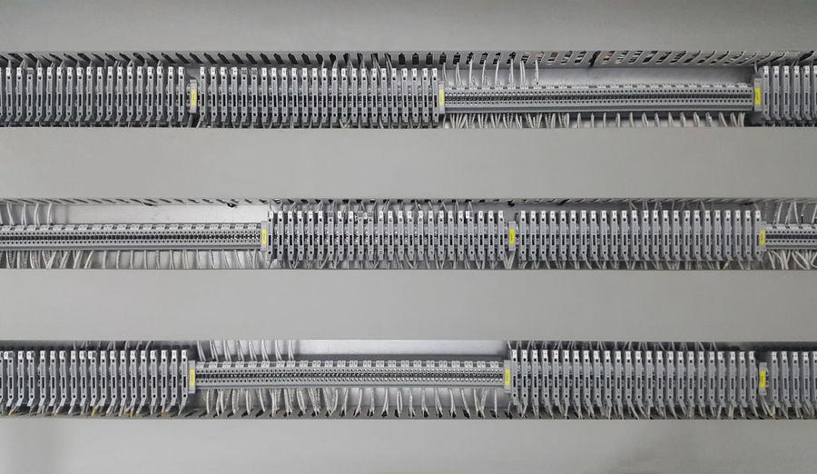 Full frame shot of electronic equipment