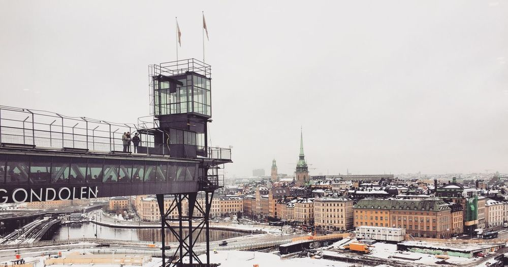 Oldtown Gamla Stan Architecture Built Structure City Travel Residential Building Transportation Outdoors Clear Sky No People Sky Day Cityscape