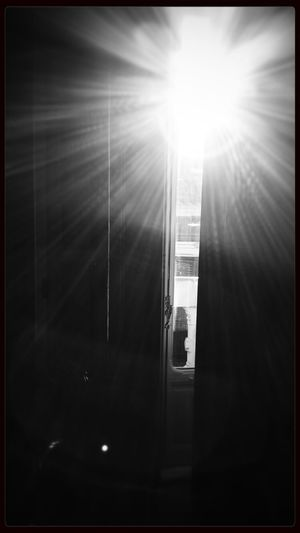 Waking Up Light And Shadow Monochrome Blackandwhite