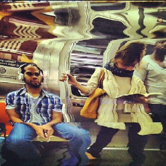 #subway #slitscan Subway Slitscan