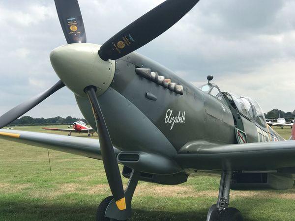 Spitfire, Fighter WW2, Vintage, RAF, Pilot, Flying, Airfield, Speed, Grace, Beauty Ashford Kent Battle Of Britain