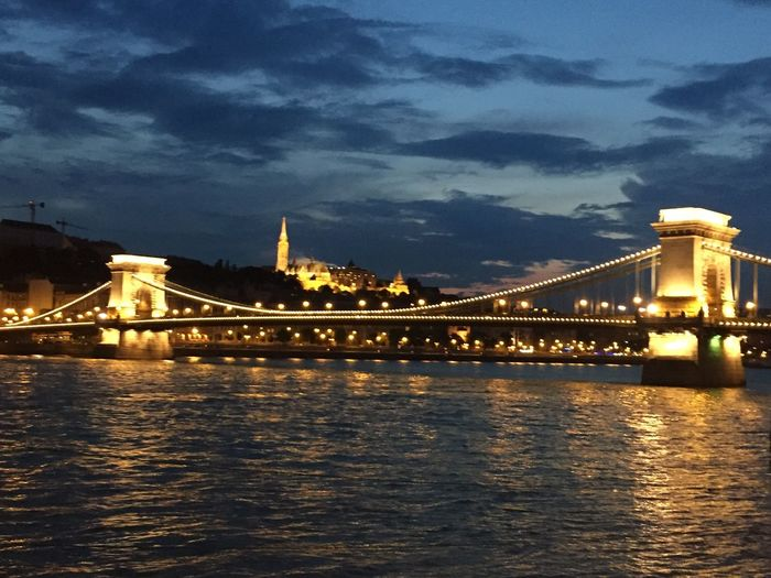Budapest Holiday River Outdoors on
