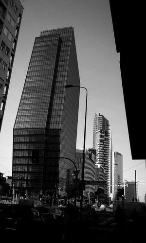The Architect - 2016 EyeEm Awards Milan Builings Streetphotography Street Skyscraper Blackandwhite Simple