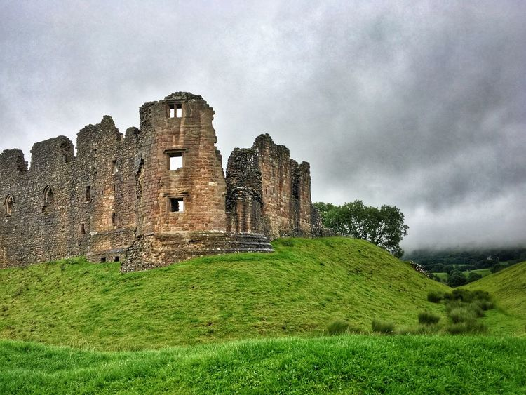Brough Castle Brough Cumbria Heritage Castle Ruins Landscape Scenery Middleages