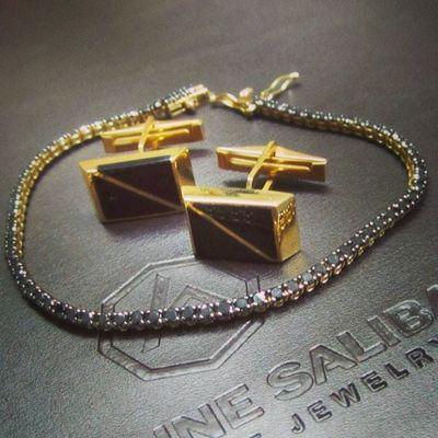 Byblos Men Beautiful Beirut Elegant Fashion Store Gold Black Lebanon Jewelry Bracelet Diamonds Online  Luxury Cufflinks Designer  Instagood MustHave Instalike Biggest Lebanese Instanow Antoinesaliba