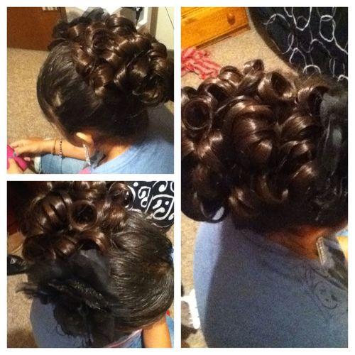 When I Did My Cousins Hair