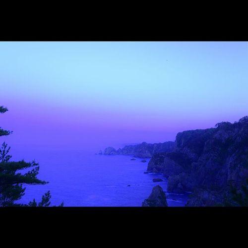北山崎 三陸海岸 岩手 風景 海