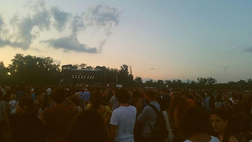 Monochrome Concert La Ventura Manu Chao Tour Monza Great Atmosphere