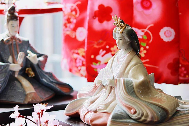 Japanese  Doll Hinamatsuri Ohinasama Lladro Princess and Prince