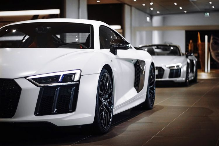 Car Transportation Automobile Industry Mode Of Transport Stationary Indoors  No People Technology Racecar Day Audi Audience Audir8 Audiotechnica Audioporn Audilove Audi R8 Cars First Eyeem Photo